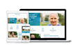 Stonerise Healthcare's new website with responsive design.