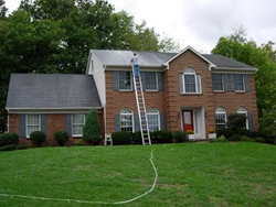 Roof cleaning can help sell the home faster