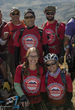Jamey Stogsdill and her 2014 Adventure Team Challenge team.