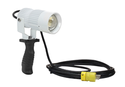 Powerful Handheld LED Spotlight that produces 1,530 lumens of light