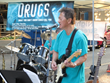 The Viewpoint band provided the entertainment at the Church of Scientology Seattle's National Night Out block party.