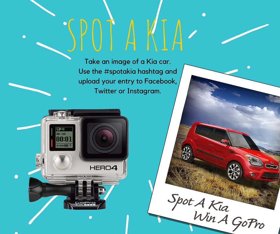 Kia Dealer Nj: New Jersey Auto Dealer Announces Spot A Kia GoPro Giveaway