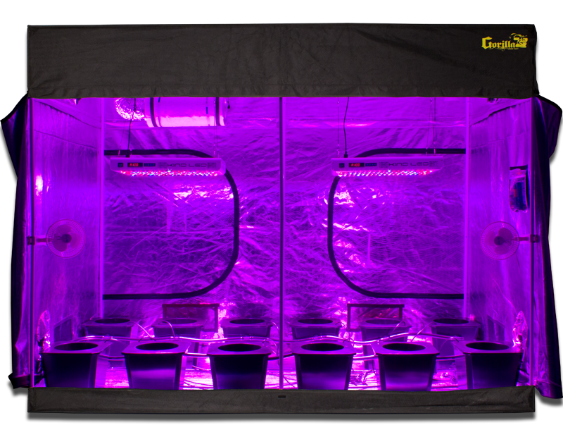 SuperCloset the Leading Manufacturer of Complete Hydroponic Grow Systems Announces the Largest Complete Turnkey Grow System The 10u0027x20u0027 LED SuperRoom  sc 1 th 198 : complete led grow tent - memphite.com