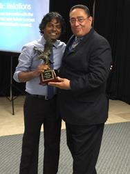 Dr Arvind Philomin gets MGE Award