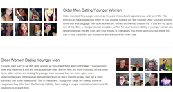 Age Gap Dating - Dating Older Men & Dating Older Women