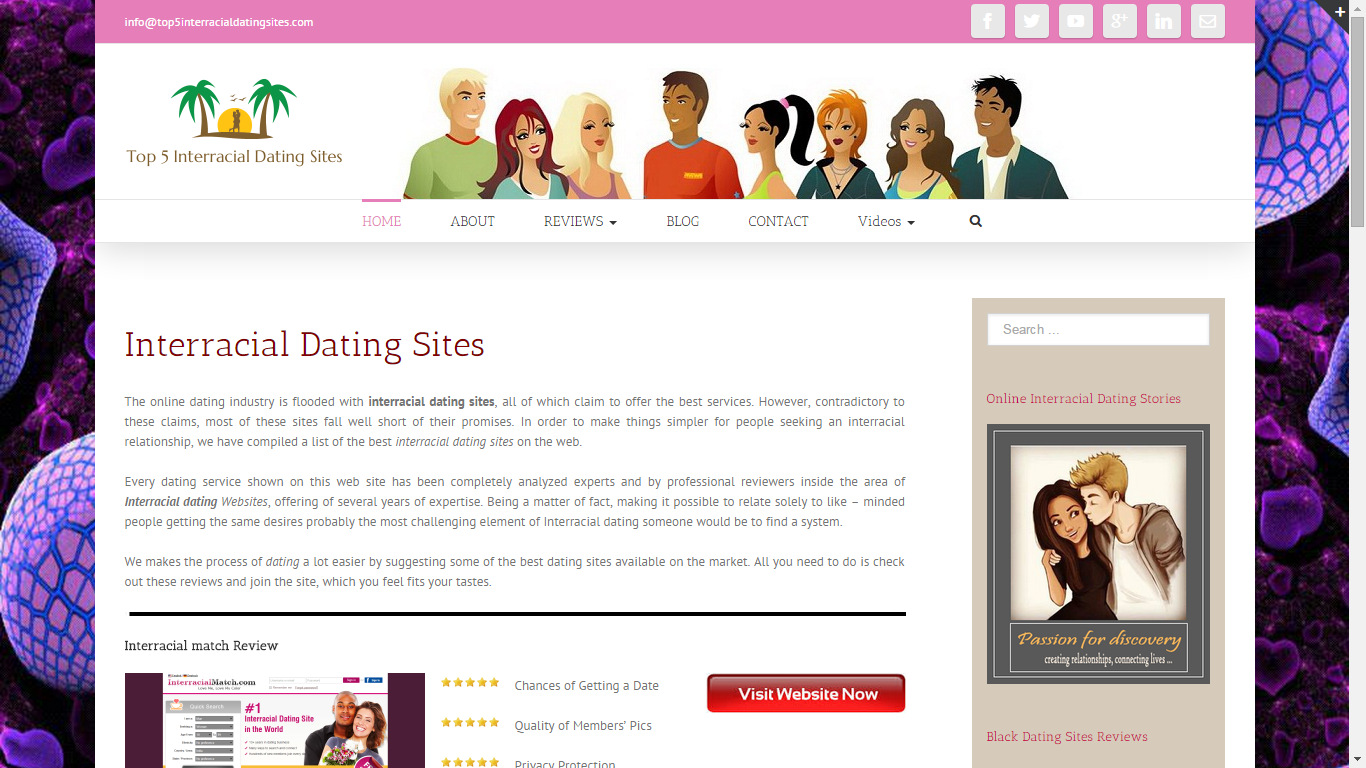 History dating websites