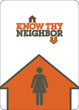 New adult party game, Know Thy Neighbor, now available on Kickstarter