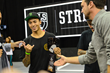 Monster Energy's Nyjah Huston Takes 2nd Place at Stop Two of the 2015 Street League Skateboarding Nike SB World Tour in Newark