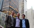 Co-Founders Digital Samba (LTR): Matthias Kritz, Robert Strobl, Jorge Maiquez