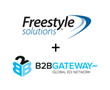 Freestyle Solutions and B2BGateway Announce Partnership