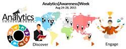 Analytics Awareness Week Aug 24-28, 2015