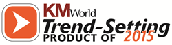 KMWorld Trend-Setting Product of 2015