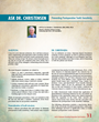 Ask Dr. Christensen: Preventing Postoperative Tooth Sensitivity