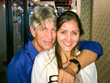 Eric Roberts and Nana Gouvea on set for film Black Wake. The film is scheduled for release in early 2016.