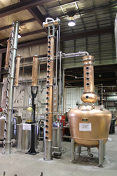 Stills designed by Vendome Copper Louisville KY