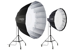 Elinchrom Litemotiv 120cm and 190cm softboxes