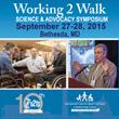 Push to Walk Sponsoring Working 2 Walk Symposium