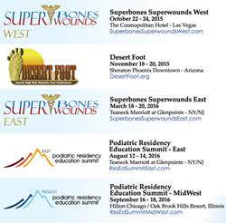 2016 PRESENT Podiatric Conference Calendar