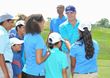 Jordan Spieth Makes Special Appearance at The First Tee Classic at Liberty National Golf Club