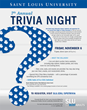Saint Louis University's School for Professional Studies to Host Trivia Night on November 6