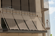 University Medical Center parking garage with Cambridge Architectural Scale mesh for aesthetics, fall protection and ventilation