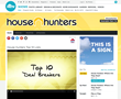 HGTV's House Hunters showcases Express Kitchens' cabinetry and countertops.