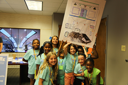 Project Scientist Girls Present their STEM ideas at T1V