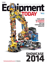 Equipment Today magazine cover receives Tabbie award