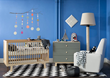 Nursery Furniture, Crib and Rocker
