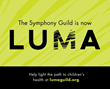 Seattle, Symphony Guild, LUMA, Mateo Messina, CRP, rebrand, non-profit, Seattle Children's Hospital