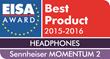 EISA Awards honor Sennheiser's MOMENTUM 2 as best headphones