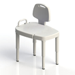 SP Ableware/Maddak Adjustable Transfer Bench Makes the Bathroom a Safer Place