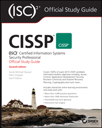 CISSP® (ISC)2® Certified Information Systems Security Professional Official Study Guide, CISSP book, CISSP study guide