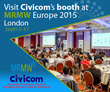 Civicom to Showcase Ways to Use Mobile Devices in Market Research at MRMW London September 15-17