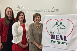 Literacy for Life is the winner of the Award for Program Innovation and Collaboration for their innovative HEAL Program®. Award winners will receive their awards at the ProLiteracy Conference on Adult Literacy in Charleston, South Carolina, October 14-17.