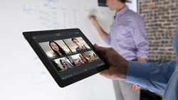 Fuze cloud video conferencing on iPad
