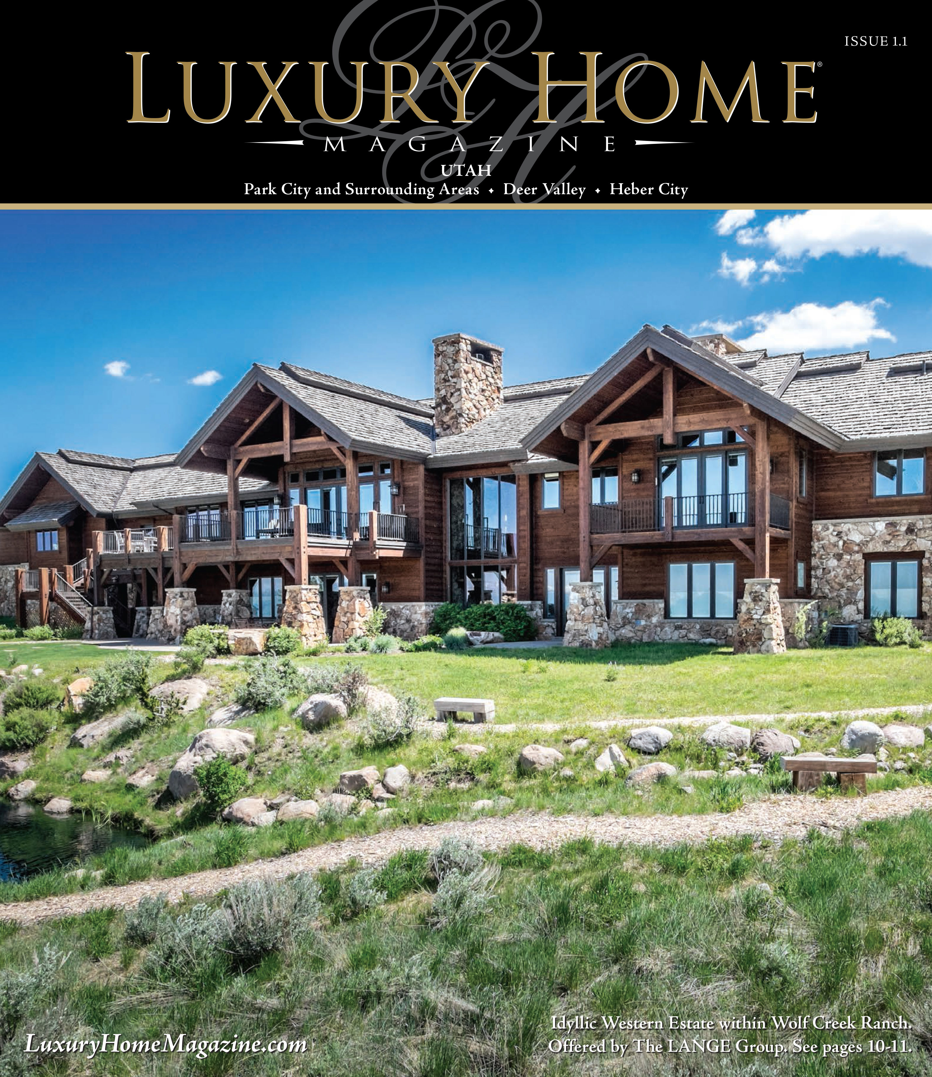 Heads Are Literally Turning Over The Premiere Issue Of Luxury Home Magazine  Of Utah