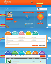 Updated K-2 Profile in version 2.0 of the Epiphany Learning Personalized Learning Application.