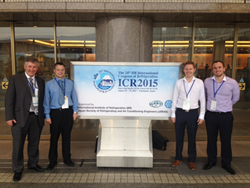 STS team at the International Congress of Refrigeration in Yokohama, Japan