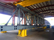 TTI-FSS fabricated three shuttle sections like this one for the world's largest coal ship loader.