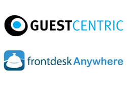 GuestCentric announced today a partnership with Frontdesk Anywhere on an integrated hotel management and marketing platform in the cloud.