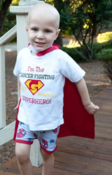 grant gossling childhood cancer awareness month