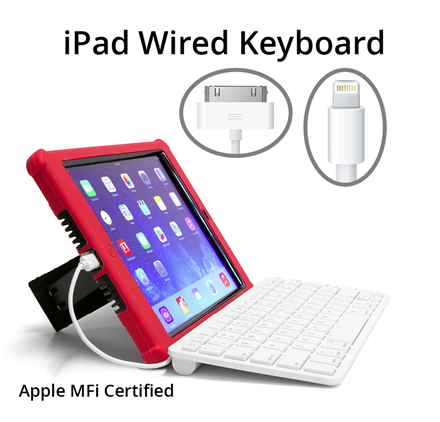 sunrise hitek s wired keyboard is now apple mfi certified. Black Bedroom Furniture Sets. Home Design Ideas