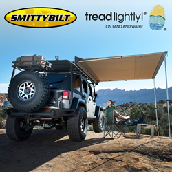 Smittybilt Tread Lightly Overlander tents generators