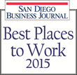 FMT Consultants Named One of the Best Places to Work in San Diego in 2015