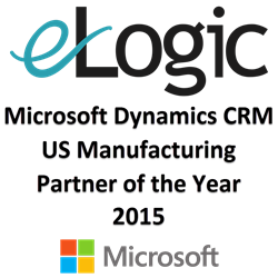 eLogic - Microsoft Dynamics CRM Manufacturing Partner of the Year