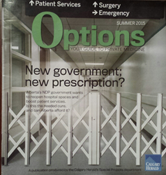 Options Magazine Calgary Herald