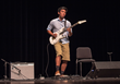 Competitor Mark Mendoza (Whitefish Bay, WI) in the Rock/Blues semi-final rounds at the Wilson Center Guitar Competition & Festival, Thursday, Aug. 13, 2015. Mark was awarded third place in his genre.