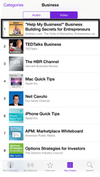 """Help My Business!"" WebTV Show for Small Business Owners Is Now the #1 Entrepreneurial Podcast on iTunes"