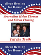 US HOUSE candidate Eileen Fleming's campaign poster